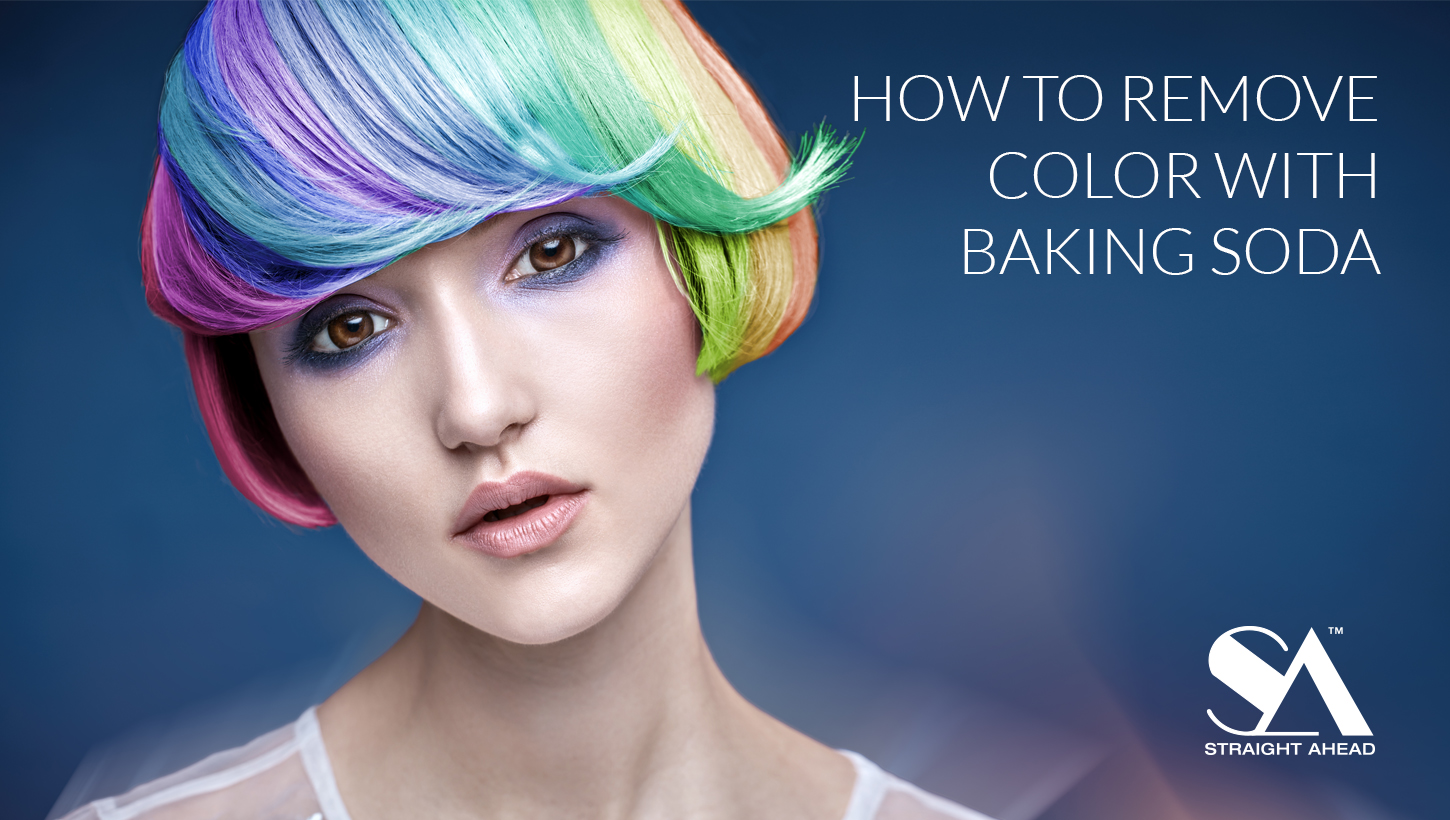 How To Remove Color With Baking Soda Straight Ahead Beauty